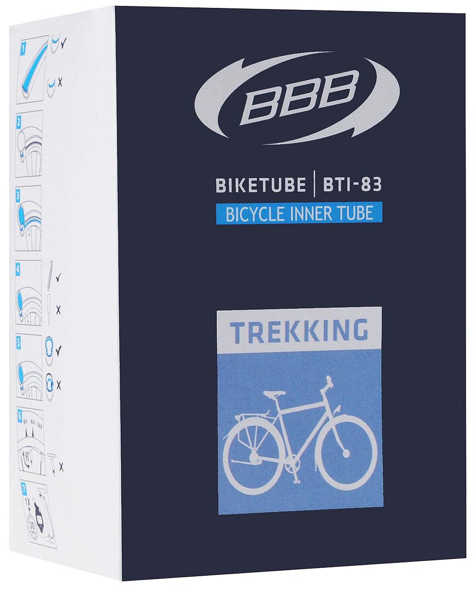 Камера велосипедная BBB, 28, 1-1-2 AVBTI-83Камера BBB изготовлена из долговечного резинового компаунда. Никаких швов, которые могут пропускать воздух. Достаточно большая для защиты от проколов и достаточно небольшая для снижения веса. Велосипедные камеры - обязательный атрибут каждого велосипедиста! Никогда не выезжайте из дома на велосипеде, не взяв с собой запасную велосипедную шину!Диаметр колеса: 28.Ниппель Dunlop: 40 ммТолщина стенки: 0,87 мм.