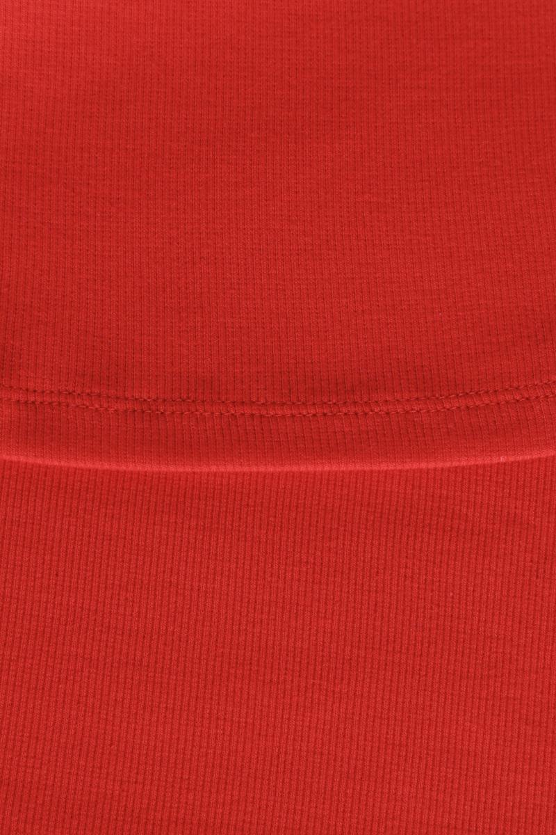 Майка женская oodji, цвет:  красный.  14315001B/46174/4500N.  Размер XL (50) oodji