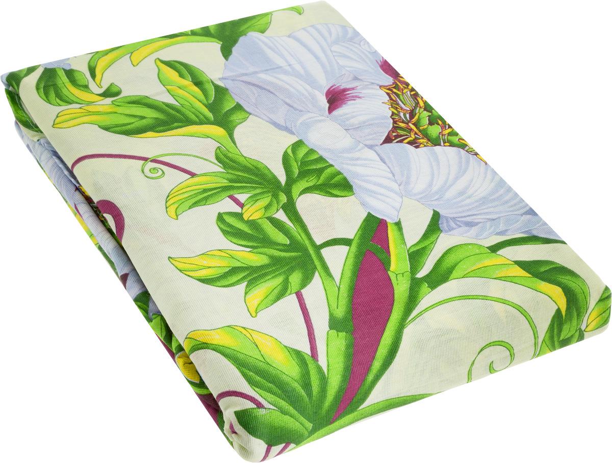 Комплект белья МарТекс Миледи, 1,5-спальный, наволочки 70х70, цвет: зеленый, мультиколор комплекты белья linse комплект белья