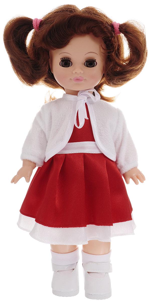 Весна Кукла озвученная Христина цвет одежды красный белый весна кукла озвученная оля цвет одежды белый розовый голубой