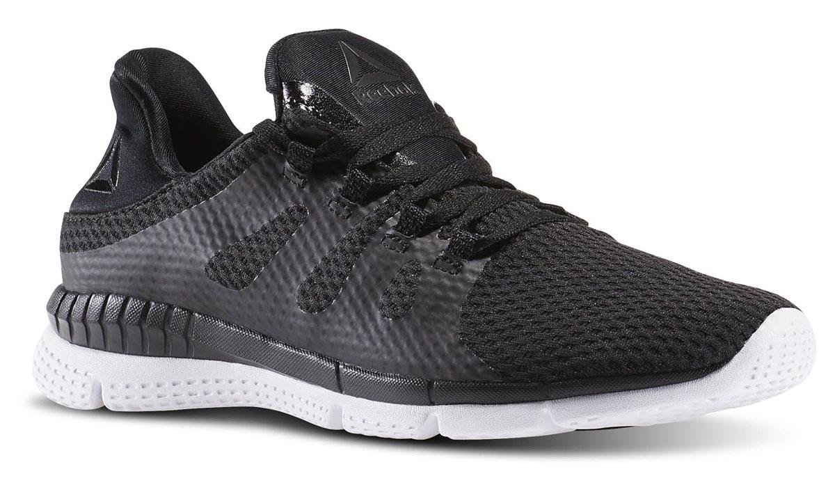Кроссовки женские для бега Reebok Zprint Her M, цвет: черный. BD2621. Размер 6, 5 (37)  - купить со скидкой