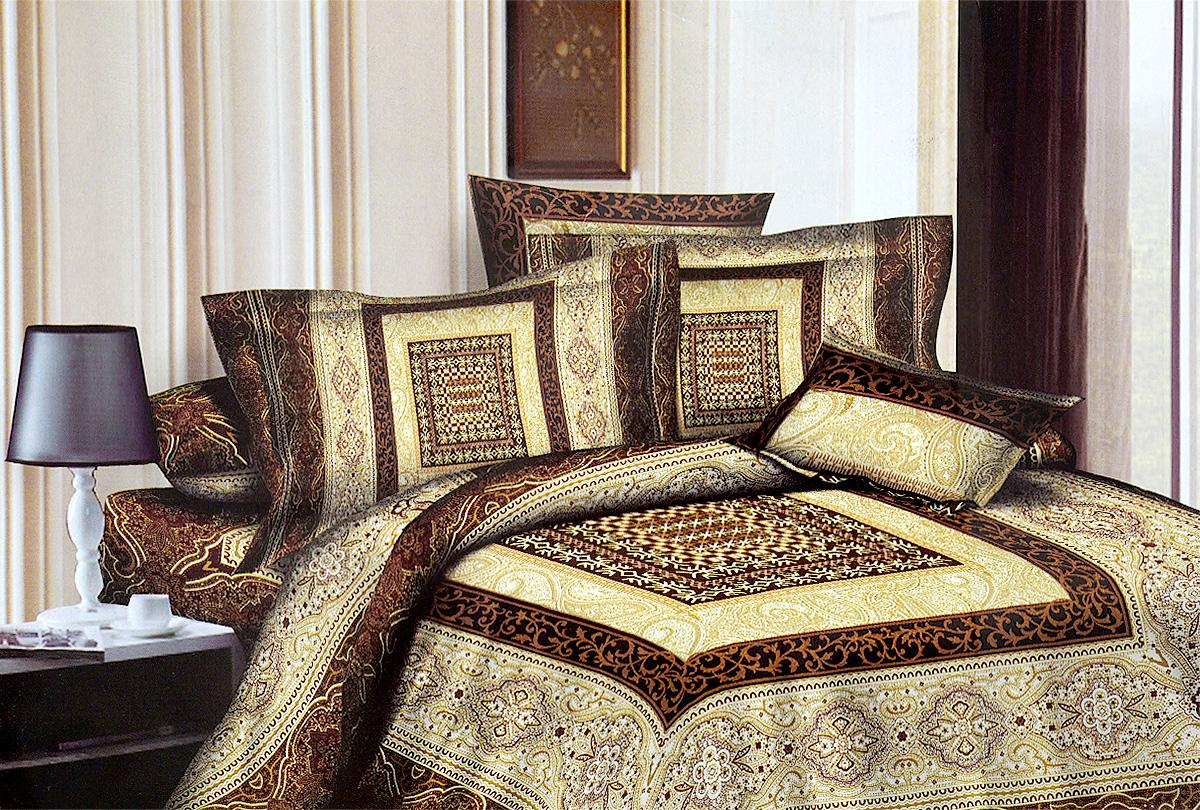 Комплект белья МарТекс Латте, 1,5-спальный, наволочки 70х70, цвет: белый, бежевый, коричневый01-0500-1Комплект постельного белья МарТекс Латте состоит из пододеяльника, простыни и двух наволочек и изготовлен из качественного сатина. Постельное белье оформлено оригинальным ярким рисунком и имеет изысканный внешний вид. Сатин - вид ткани, произведенный из натурального хлопка. Материал имеет все свойства хлопка: не аллергенен, прочен, почти не мнется и хорошо гладится. Благодаря натуральному хлопку, постельное белье приобретает способность пропускать воздух, давая возможность телу дышать. Приобретая комплект постельного белья МарТекс, вы можете быть уверенны в том, что покупка доставит вам и вашим близким удовольствие и подарит максимальный комфорт.