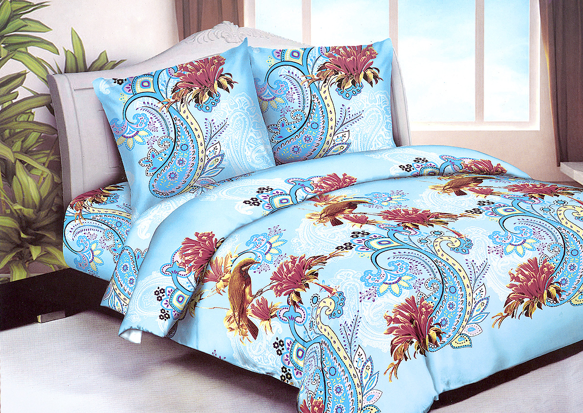 Комплект белья МарТекс Колибри, 1,5-спальный, наволочки 70х7001-1250-1Комплект постельного белья МарТекс Колибри состоит из пододеяльника, простыни и двух наволочек. Постельное белье оформлено оригинальным ярким рисунком и имеет изысканный внешний вид. Комплект изготовлен из качественной микрофибры. Микроволокно обладает высокой устойчивостью, у него богатая палитра ярких оттенков, эта ткань полностью поддается стирке.Такая ткань рассчитана на 200 стирок и более. Микрофибра представляет собой ткань из полиэфирного волокна. В ее состав входят микронити, которые и обеспечивают материалу максимальную прочность, а также дышащую способность.Приобретая комплект постельного белья МарТекс, вы можете быть уверены в том, что покупка доставит вам и вашим близким удовольствие и подарит максимальный комфорт.