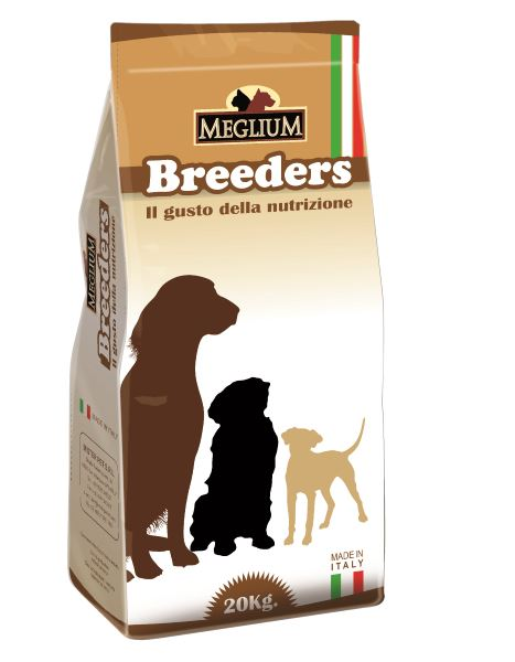 Корм сухой Meglium Adult Breeders для взрослых собак, 20 кг65186Meglium Adult – это полноценный и сбалансированный корм для взрослых собак. Удовлетворяет пищевые потребности, содержит высокоусвояемые белки, мякоть свеклы как источник необходимой клетчатки, а также жизненно важные витамины и минералы. Благодаря всему этому Meglium Adult становится оптимальным выбором для удовлетворения пищевых потребностей вашей собаки. Состав: кукуруза, дегидрированное мясо (25%), пшеница, куриный жир, сушеная мякоть цикория (2%), минеральные вещества. Пищевые добавки на кг: 3a672a Витамин A 9000 UI, Витамин D3 600 UI, 3a700 Витамин E 75 мг, E4 пентагидрат сульфата меди 32 мг, E1 карбонат железа 33 мг, E5 оксид марганца 42 мг, E6 моногидрат сульфата цинка 99 мг, E2 йодистый калий 0,8 мг, E8 селенит натрия 0,18 мг. Аналитические компоненты: Влага 8%, сырой белок 23%, сырые масла и жиры 9%, сырая зола 9,3%, сырая клетчатка 3%, соотношение кальций/фосфор 1,3:1.Чем кормить пожилых собак: советы ветеринара. Статья OZON Гид