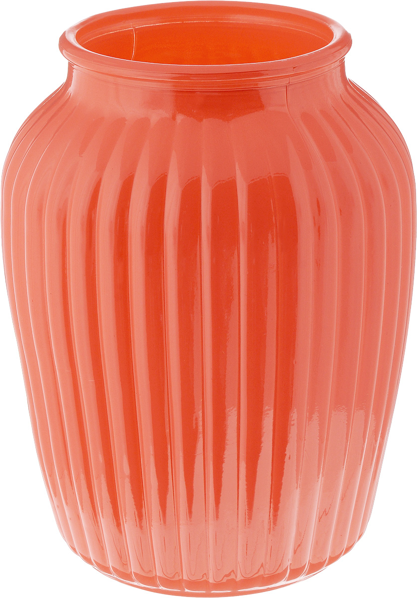 Ваза NiNaGlass Луана, цвет: коралловый, высота 19,5 смNG92-021M_коралловыйВаза Nina Glass Луана выполнена из высококачественного стекла и имеет изысканный внешний вид. Такая ваза станет ярким украшением интерьера и прекрасным подарком к любому случаю. Не рекомендуется мыть в посудомоечной машине.Высота вазы: 19,5 см.Диаметр вазы (по верхнему краю): 10 см.