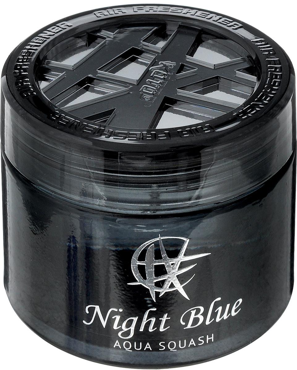 Ароматизатор автомобильный Koto Night Blue, гелевый, Aqua Squash, 65 млFPG-140Автомобильный ароматизатор Koto Ocean Blue эффективно устраняет неприятные запахи и придает легкий приятный аромат. Сочетание формулы геля с парфюмами наилучшего качества обеспечивает устойчивый запах. Кроме того, ароматизатор обладает элегантным дизайном, поэтому будет гармонично смотреться в салоне любого автомобиля. Благодаря удобной конструкции, его можно установить в любое место, например, на панель, под сиденье или в двери. Крепится ароматизатор с помощью двусторонней наклейки (входит в комплект). Срок эффективного действия - до 90 дней. Его можно использовать не только в автомобиле, но и в домашних условиях.Объем: 65 мл.