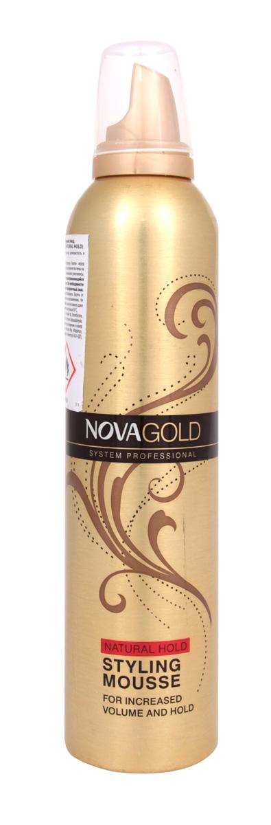 Пенка лёгкой фиксации Nova GOLD 300 мл (красный)5021156121000Новая формула и уникальная, воздушная текстура пенки для волос обеспечивает безупречную,стойкую прическу,которая продержится несколько часов. В состав входят провитамины B5 и UV-фильтры.Они делают формулу более стойкой и придают прическе сияние и блеск. Пенка оберегает волосы от неблагоприятного воздействия ультрафиолетовых лучей и от горячего воздуха во время термоукладки феном или утюжком.