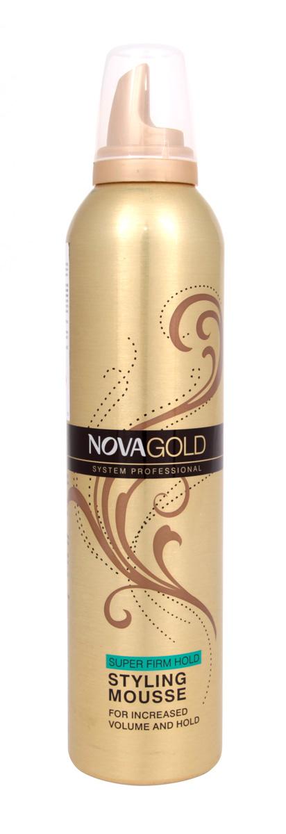 Пенка сверхсильной фиксации Nova GOLD 300 мл (зеленый)5021156120393Новая формула и уникальная, воздушная текстура пенки для волос обеспечивает безупречную,стойкую прическу,которая продержится несколько часов. В состав входят провитамины B5 и UV-фильтры.Они делают формулу более стойкой и придают прическе сияние и блеск. Пенка оберегает волосы от неблагоприятного воздействия ультрафиолетовых лучей и от горячего воздуха во время термоукладки феном или утюжком.