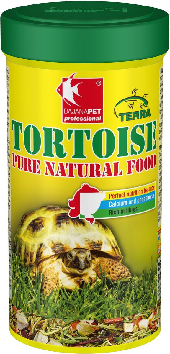 Корм для сухопутных черепах Dajana Tortouse Sticks, 250 млDP252BПолноценный корм в виде палочек, смесь отборных продуктов растительного происхождения, предназначенная для всех видов сухопутных травоядных черепах и других травоядных пресмыкающихся. Смесь в оптимальном соотношении дает животным важные питательные вещества, включая кальций и фосфор, необходимый для правильного развития скелета и организма в целом. Состав: люцерна, другие кормовые культуры, водоросли, сушеные фрукты и овощи, розмарин, цветки алтея, лист брусники. Товар сертифицирован.