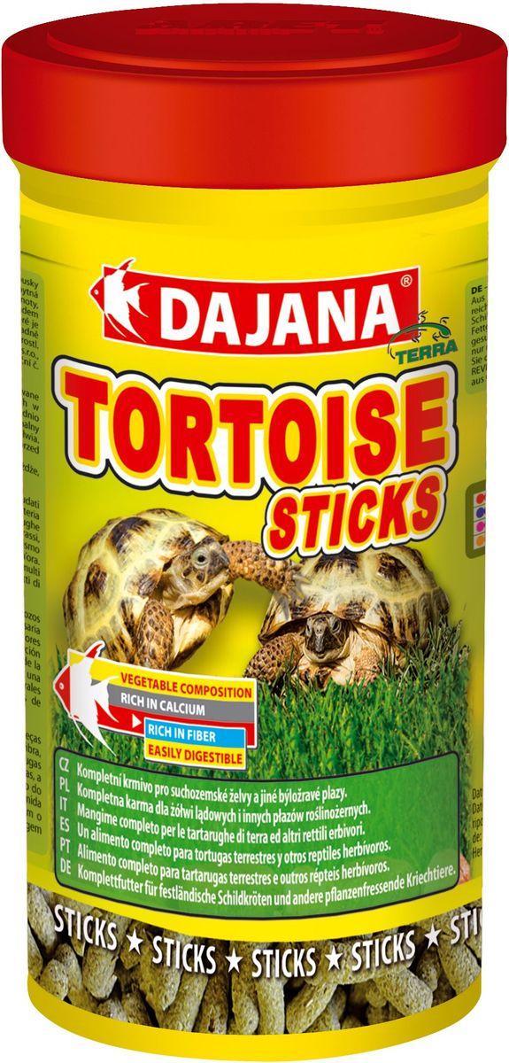Корм для сухопутных черепах Dajana Tortouse Sticks, 250 мл. DP253BDP253BПолноценный корм в виде палочек, смесь отборных продуктов растительного происхождения, предназначенная для всех видов сухопутных травоядных черепах и других травоядных пресмыкающихся. Смесь в оптимальном соотношении дает животным важные питательные вещества, включая кальций и фосфор, необходимый для правильного развития скелета и организма в целом. Состав : Злаки, продукты растительного происхождения, продукты из масла растений, дрожжи, люцерна, минеральные вещества. Товар сертифицирован.