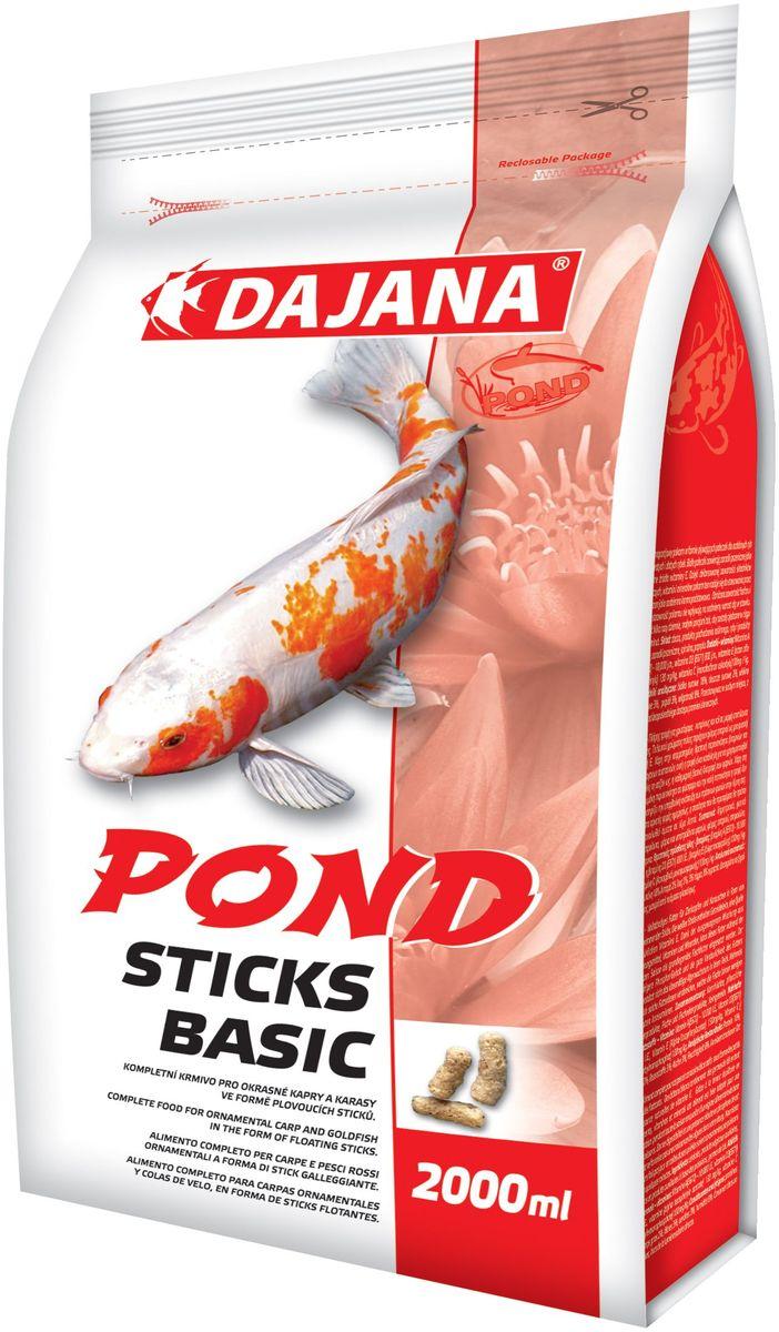 Корм для прудовых рыб Dajana Pond Sticks Basic, 2 л (180 г) корм tetra pond sticks complete food for all pond fish палочки для прудовых рыб 50л