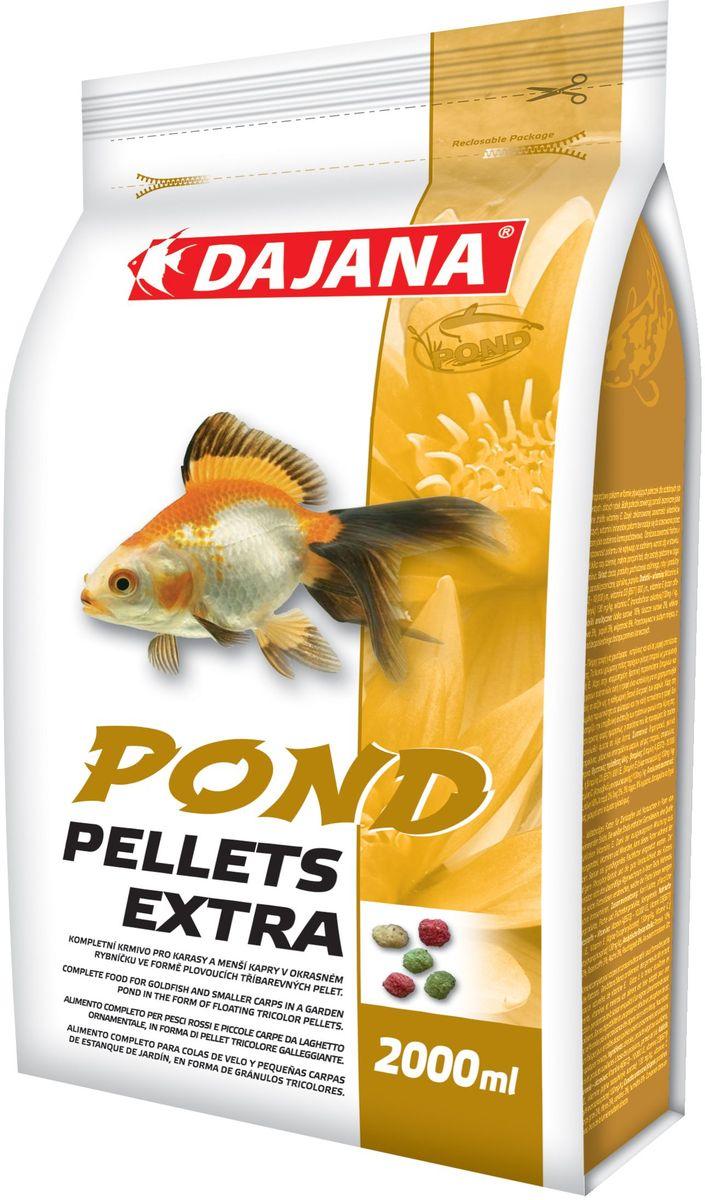 Корм для прудовых рыб Dajana Pond Pellets Extra, 2 л (220 г) корм для рыб dajana legend goldfish pellets 250 мл