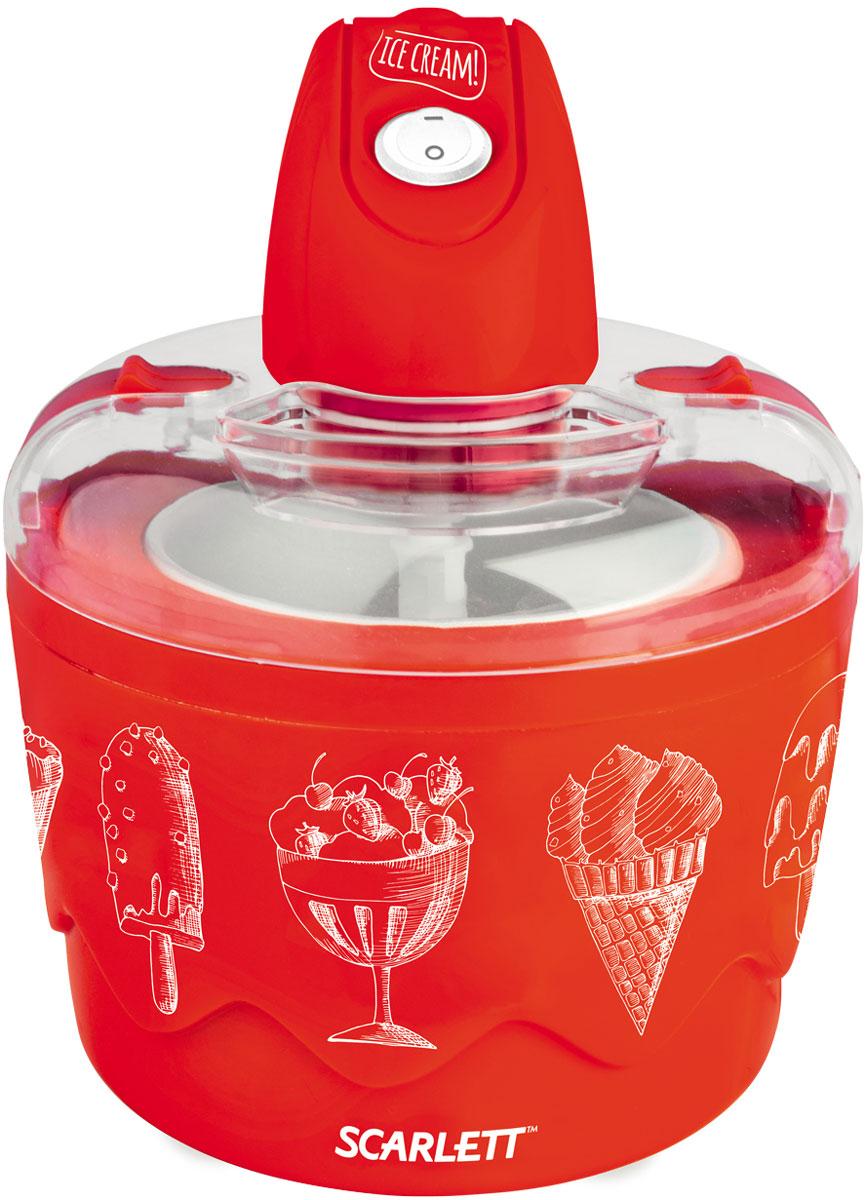 Scarlett SC-IM22255, Red мороженица - Техника для вечеринок