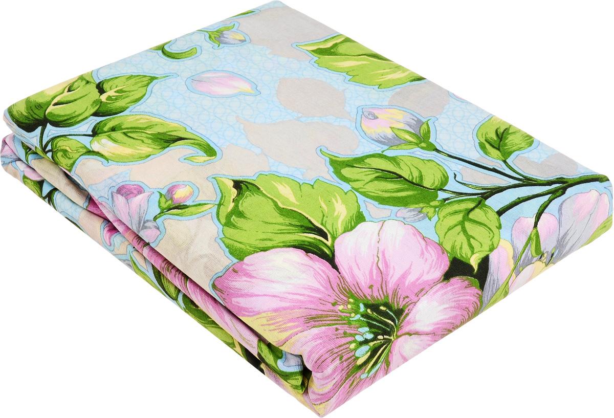 Комплект белья МарТекс Кудесница. Аромат весны, 2-спальный, наволочки 70х70, цвет: голубой, зеленый, бежевый01-1010-2Комплект постельного белья МарТекс Кудесница. Аромат весны состоит из пододеяльника, простыни и двух наволочек и изготовлен из бязи. Постельное белье оформлено оригинальным ярким рисунком и имеет изысканный внешний вид. Бязь - вид ткани, произведенный из натурального хлопка. Бязевое белье выдерживает большое количество стирок. Благодаря натуральному хлопку, постельное белье приобретает способность пропускать воздух, давая возможность телу дышать. Приобретая комплект постельного белья МарТекс, вы можете быть уверенны в том, что покупка доставит вам и вашим близким удовольствие и подарит максимальный комфорт.Советы по выбору постельного белья от блогера Ирины Соковых. Статья OZON Гид
