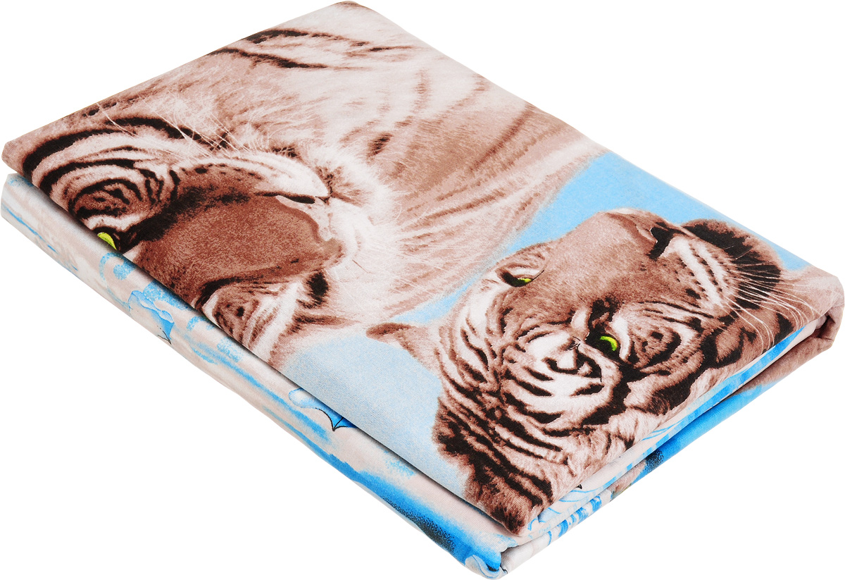 Комплект белья МарТекс Тайна востока, 2-спальный, наволочки 70х70, цвет: голубой, коричневый01-0984-2Комплект постельного белья МарТекс Тайна востока состоит из пододеяльника, простыни и двух наволочек и изготовлен из бязи. Постельное белье оформлено оригинальным ярким 3D рисунком и имеет изысканный внешний вид. Бязь - вид ткани, произведенный из натурального хлопка. Бязевое белье выдерживает большое количество стирок. Благодаря натуральному хлопку, постельное белье приобретает способность пропускать воздух, давая возможность телу дышать. Приобретая комплект постельного белья МарТекс, вы можете быть уверенны в том, что покупка доставит вам и вашим близким удовольствие и подарит максимальный комфорт.