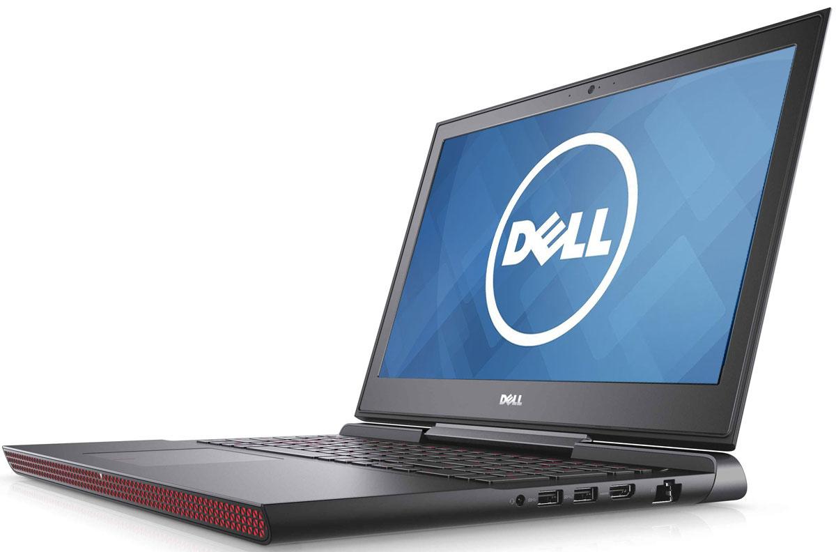 Dell Inspiron 7567, Black (7567-8814)7567-8814Получайте совершенно новые впечатления от развлечений, игр и видео с ноутбуком Dell Inspiron 15 благодаря мощному процессору Intel Core i5 седьмого поколения и графическому адаптеру NVIDIA GeForce GTX1050.Наслаждайтесь изображением высочайшего качества на дисплее, выполненном по технологии TN с матовым покрытием. Этот дисплей поддерживает разрешение Full HD (1920x1080) и характеризуется широким узлом обзора.Предотвратите ошибочные нажатия клавиш с помощью клавиатуры с подсветкой, которая поможет вам играть или работать на компьютере даже в темноте. А чувствительная сенсорная панель обеспечит точную поддержку жестов с превосходным временем реакции.Погрузитесь в мир отличного звука с помощью технологии Waves MaxxAudio Pro. Разработанные корпорацией Dell широкополосные и низкочастотные динамики используют все возможности программного обеспечения для формирования звука студийного качества, поэтому вы не упустите ни малейшего оттенка звука.Точные характеристики зависят от модификации.Ноутбук сертифицирован EAC и имеет русифицированную клавиатуру и Руководство пользователя.