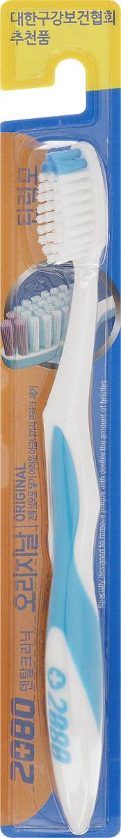 DC 2080 Зубная щетка Оригинал, средняя жесткость, цвет: голубой860458_розовыйDC 2080 Зубная щетка Оригинал, средняя жесткость, цвет: голубой