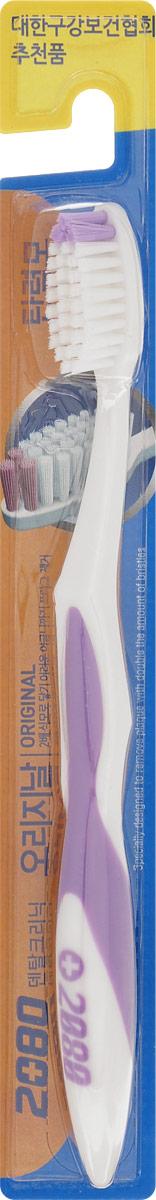 DC 2080 Зубная щетка Оригинал, средняя жесткость, цвет: сиреневый