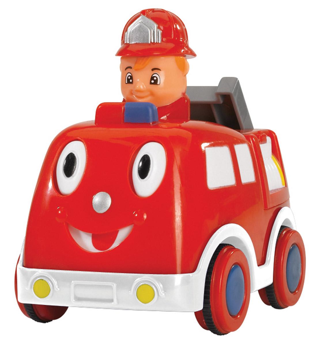 Simba Машинка-игрушка Пожарная машинка с водителем simba машинка игрушка лев