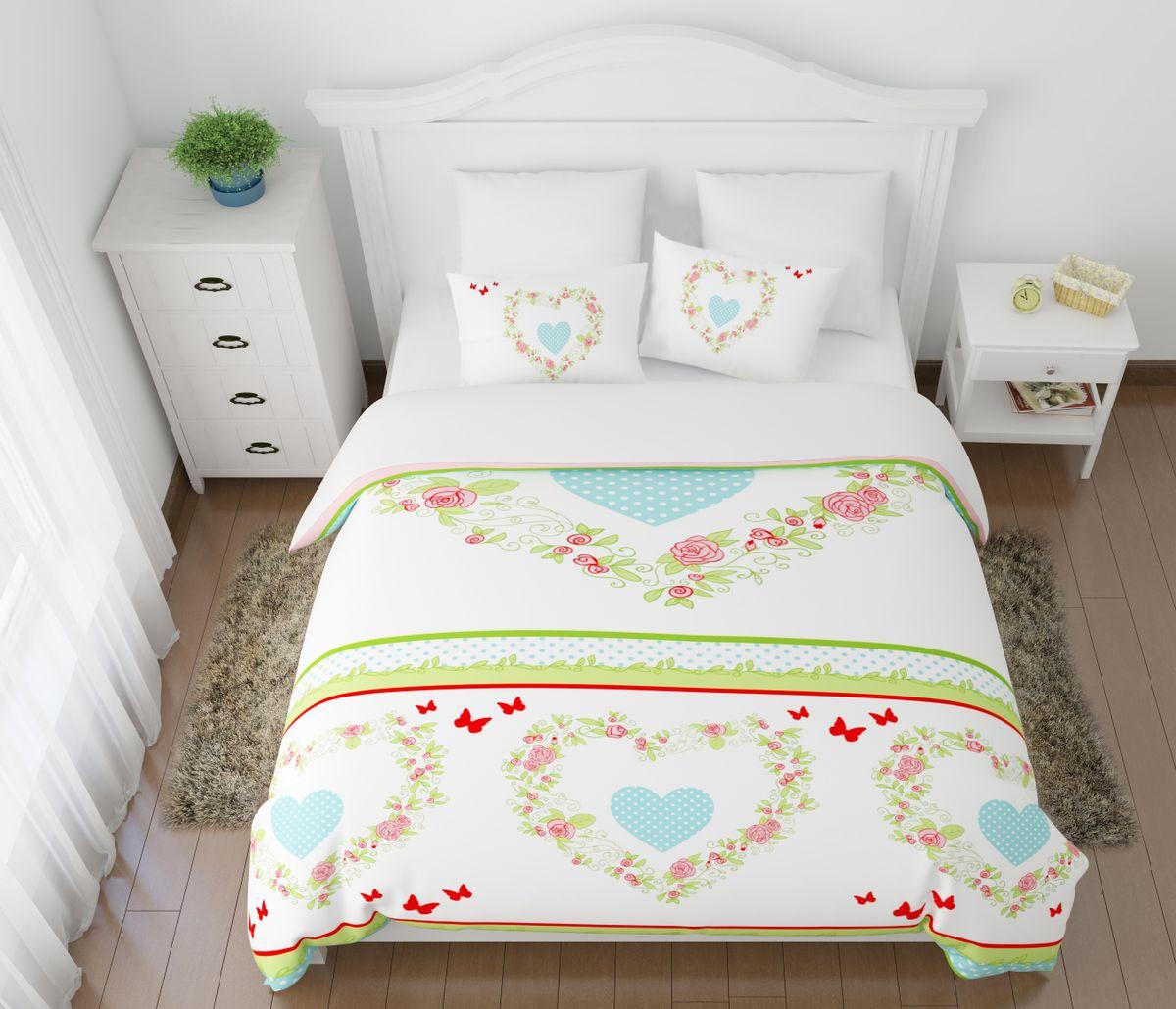 Комплект белья Сирень Мона, 1,5-спальный, наволочки 50x7003983-КПБ-МКомплект постельного белья Сирень Мона состоит из простыни, пододеяльника и 2 наволочек. Комплект выполнен из современных гипоаллергенных материалов. Приятный при прикосновении сатин - гарантия здорового, спокойного сна. Ткань хорошо впитывает влагу, надолго сохраняет яркость красок. Четкий, изящный рисунок в сочетании с насыщенными красками делает комплект постельного белья неповторимой изюминкой любого интерьера. Постельное белье идеально подойдет для подарка.