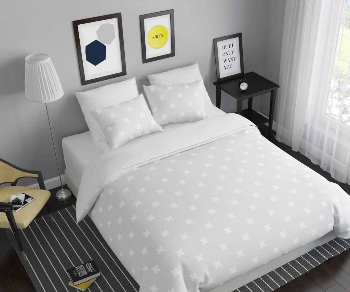 Комплект белья Сирень Крестики, 1,5-спальный, наволочки 50x7007263-КПБ-МКомплект постельного белья Сирень Крестики состоит из простыни, пододеяльника и 2 наволочек. Комплект выполнен из современных гипоаллергенных материалов. Приятный при прикосновении сатин - гарантия здорового, спокойного сна. Ткань хорошо впитывает влагу, надолго сохраняет яркость красок. Четкий, изящный рисунок в сочетании с насыщенными красками делает комплект постельного белья неповторимой изюминкой любого интерьера. Постельное белье идеально подойдет для подарка.