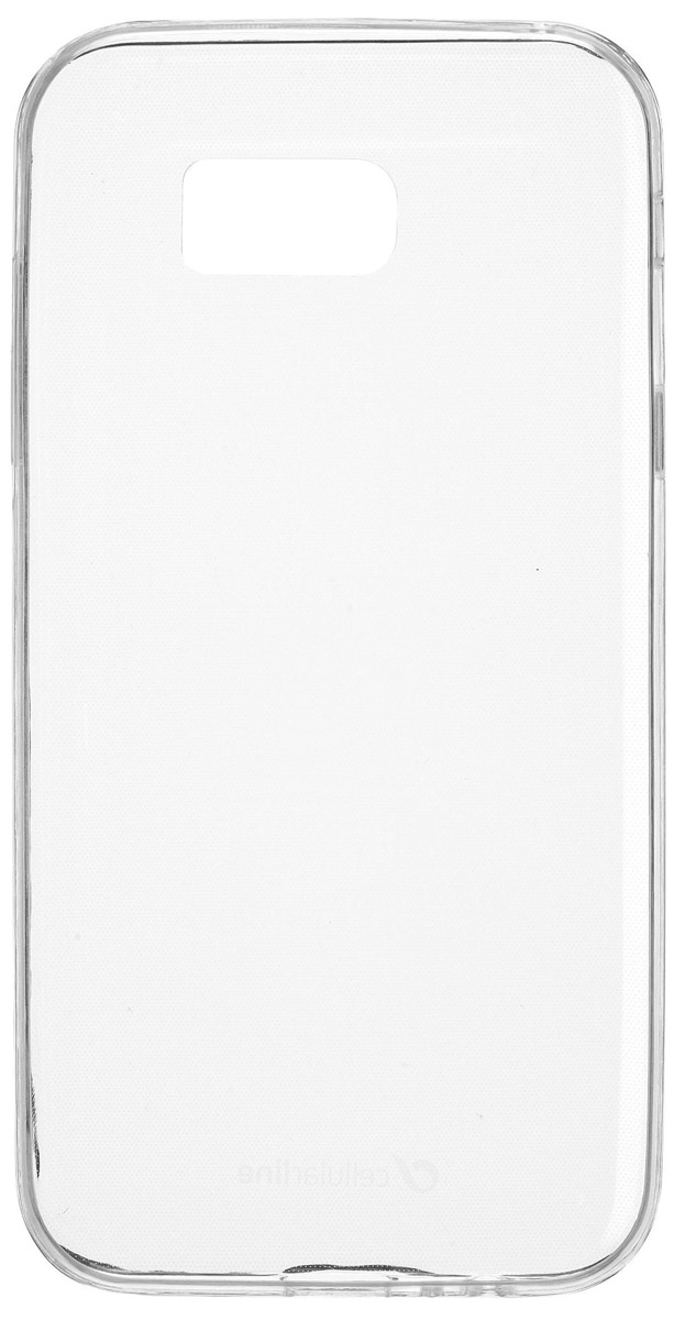 Cellular Line Fine чехол для Samsung Galaxy A7 (2017), Clear cellular line satiniph647g green