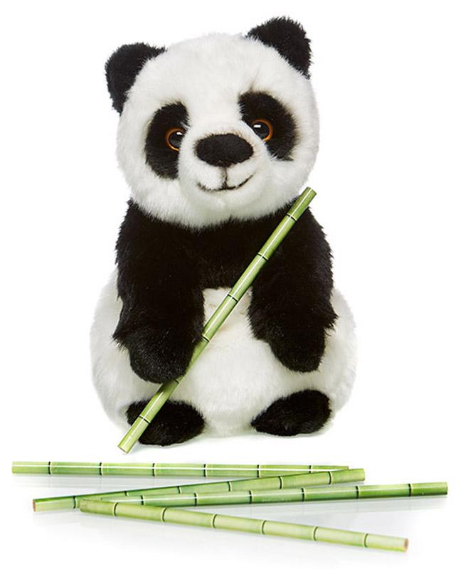 Maxi Toys Мягкая игрушка Панда 24 см maxi toys мягкая игрушка антистресс