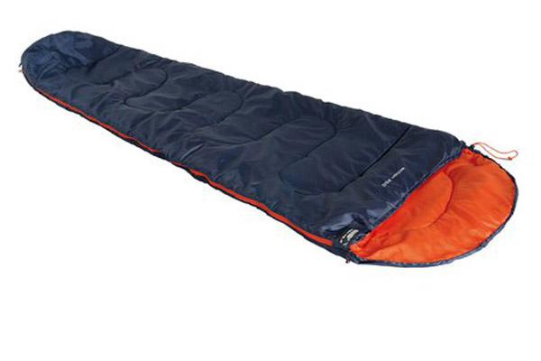Спальный мешок High Peak Action 250, цвет: синий, оранжевый, правосторонняя молния high peak campo 2