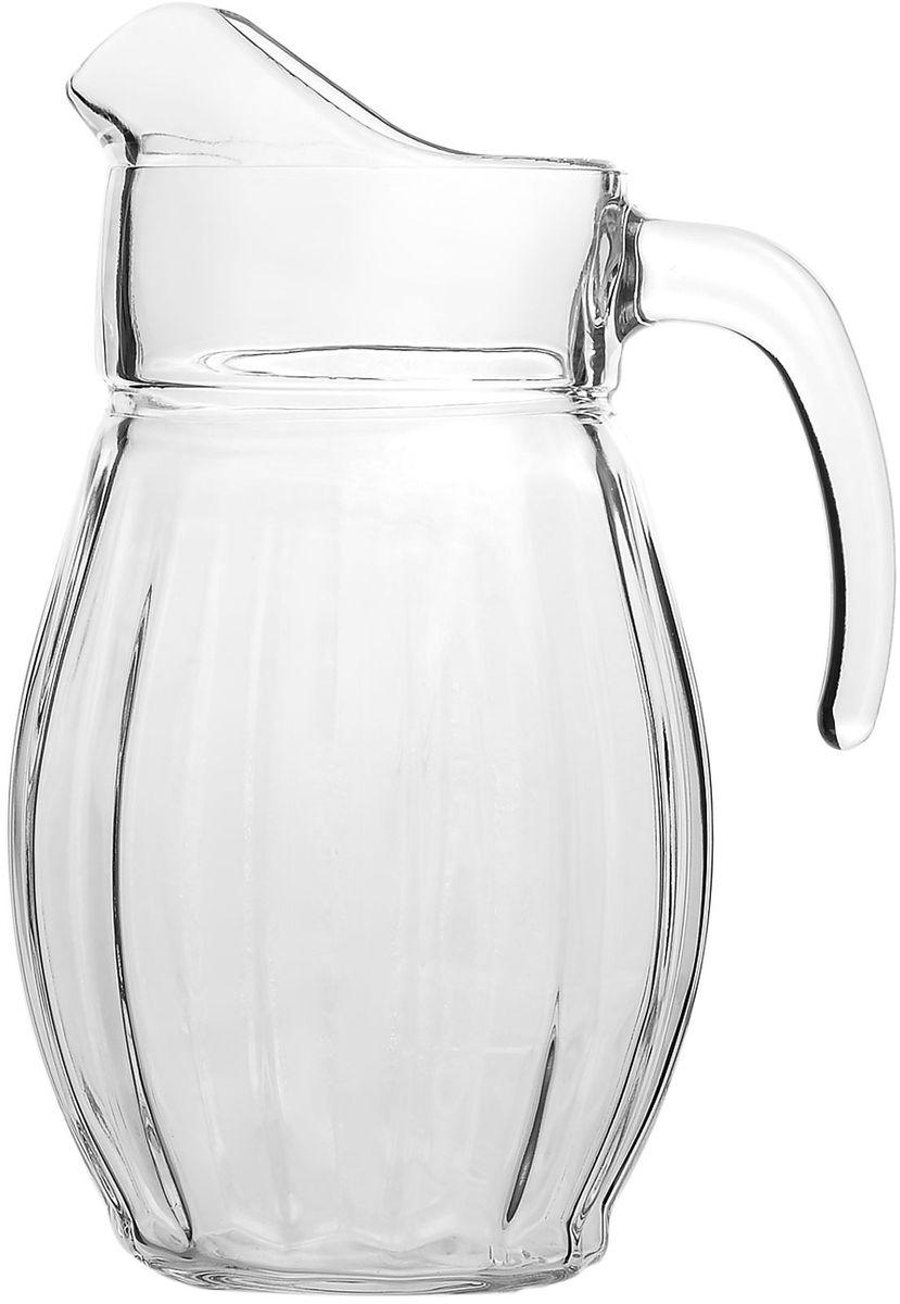 Кувшин Pasabahce Dance, 1,7 л43374BКувшин Pasabahce DANCE, выполненный из прочного натрий-кальций-силикатного стекла, элегантно украсит ваш стол. Такой кувшин прекрасно подойдет для подачи воды, сока, компота и других напитков. Совершенные формы и изящный дизайн, несомненно, придутся по душе любителям классического стиля. Кувшин Pasabahce DANCE дополнит интерьер вашей кухни и станет замечательным подарком к любому празднику.