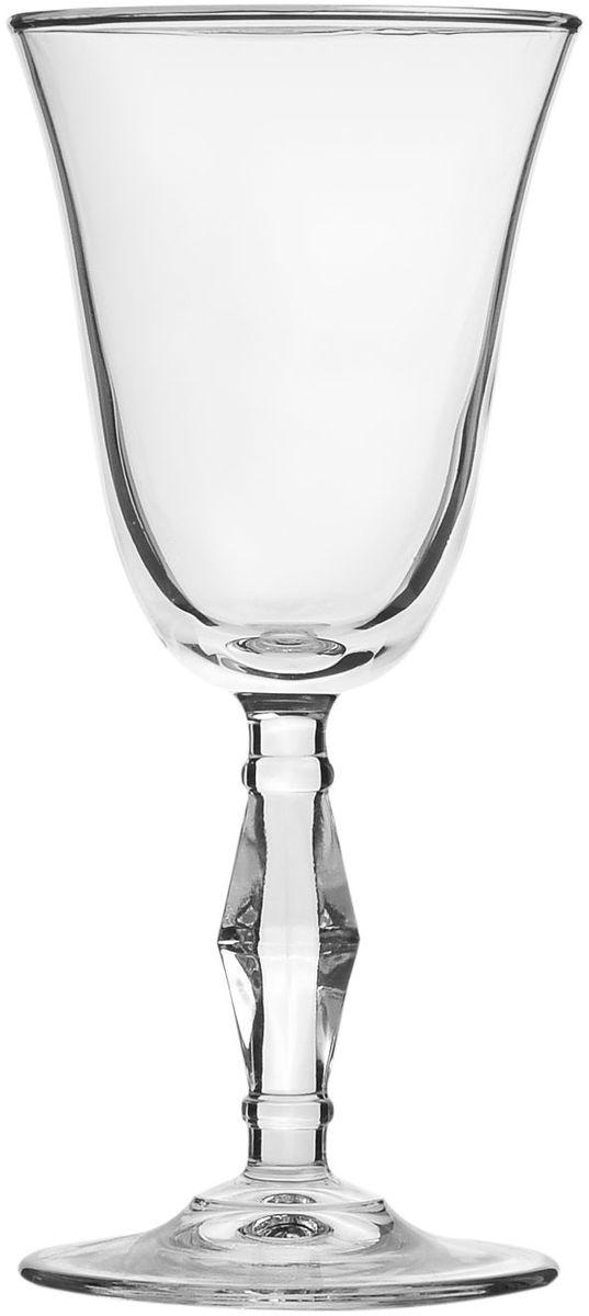 Набор бокалов Pasabahce Golden Retro, 236 мл, 6 шт440060B1Набор Pasabahce Golden Retro состоит из шести бокалов, выполненных из прочного натрий-кальций-силикатного стекла. Изделия оснащены ножками. Бокалы сочетают в себе элегантный дизайн и функциональность. Благодаря такому набору пить напитки будет еще вкуснее.Набор бокалов Pasabahce Golden Retro прекрасно оформит праздничный стол и создаст приятную атмосферу за ужином. Такой набор также станет хорошим подарком к любому случаю!