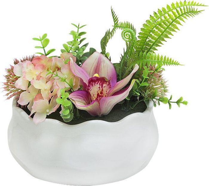 Композиции из искусственных цветов растений в оригинальных вазах и вазонах из керамики, стекла, металла - для декоративного оформления интерьеров квартир, домов, офисов, ресторанов, кафе, банкетных залов, номеров и холлов отелей, салонов красоты, фитнес-клубов и т.д. Композиции не уступают красоте живых цветов, подчеркивают индивидуальность и создают цветочное настроение!Композиции из искусственных цветов долговечны, не требуют ежедневного ухода, выполнены из натуральных шелка и текстиля, прошедших специальную обработку высококачественными современными материалами. Искусственные цветы максимально приближены к натуральным, не пахнут, что исключает все аллергические реакции.Композиции из искусственных цветов – это прекрасный подарок в любой дом!