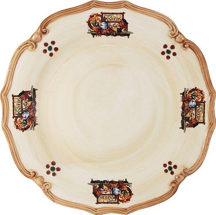 Блюдо LCS Садовые цветы, диаметр 37 см что в виде сувенира из туапсе