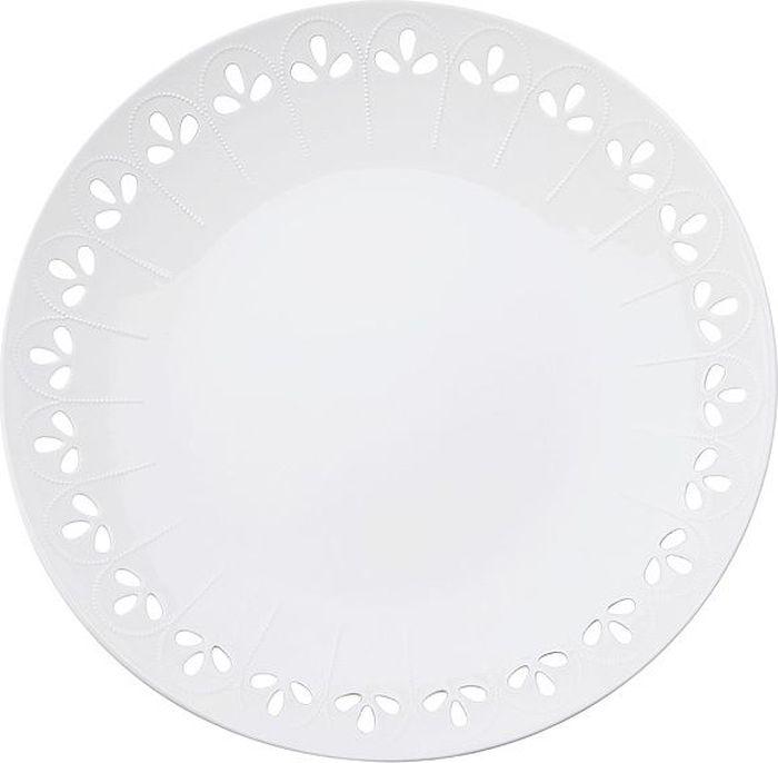 Тарелка Maxwell & Williams Лилия, диаметр 31 смMW580-AY0045Тарелка Maxwell & Williams Лилия выполнена из высококачественного фарфора и имеет классическую круглую форму. Она прекрасно впишется в интерьер вашей кухни и станет достойным дополнением к кухонному инвентарю. Она подчеркнет прекрасный вкус хозяйки и станет отличным подарком.