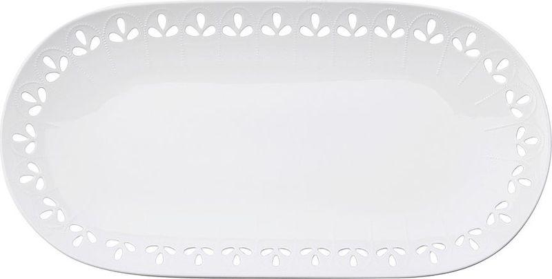 Блюдо Maxwell & Williams Лилия, 39 х 20 смMW580-AY0047Сервировочное блюдо Maxwell & Williams Лилия, изготовленное из фарфора, прекрасно подойдет для подачи нарезок, закусок и других блюд. Изделие,оформленное в лаконичном стиле, украсит сервировку вашего стола и подчеркнет прекрасный вкус хозяйки.Дизайнерский Дом Maxwell & Williams, Австралия, более полувека занимается дизайном и производством посуды классического и современногодизайна. Сегодня коллекции Торгового Дома продаются в 500 торговых точках Австралии, в 50 странах мира, таких как США, Канада,Великобритания, Германия, Италия, Чехия, Греция, ОАЭ, ЮАР и других. Посуда от Maxwell & Williams - это широкий выбор, высокое качество, практичность, красота и уникальное ценовое предложение. КонцепцияДизайнерского дома предоставляет потребителю возможность формировать свою коллекцию посуды из костяного, твердого фарфора иликерамики, создать свой индивидуальный стиль домашнего интерьера.Maxwell & Williams - это более 1500 наименований товаров торговых марок Maxwell & Williams и Casa Domani. Дизайнерскую посуду Maxwell & Williams можно смело ставить в микроволновую печь, холодильник, мыть в посудомоечной машине! Товары Maxwell & Williams - это образ жизни, который всегда в ногу со временем.