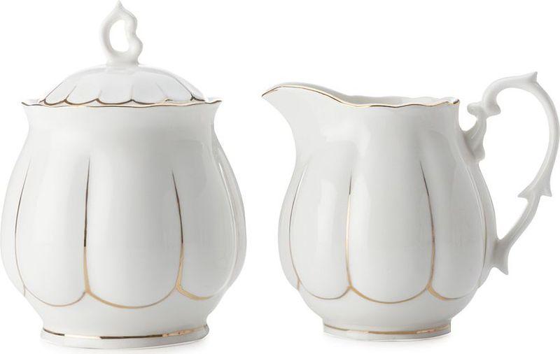 """Набор Maxwell & Williams """"Свежее дыхание"""" состоит из сахарницы и молочника.  Изделия выполнены из высококачественного фарфора. Такой набор станет  прекрасным украшением стола и порадует гостей  изысканным дизайном и утонченностью.  Набор """"Свежее дыхание"""" идеально впишется в любой  интерьер, а также станет идеальным подарком для ваших родных и близких.   Дизайнерскую посуду Maxwell & Williams можно смело ставить в микроволновую  печь, холодильник, мыть в посудомоечной машине."""