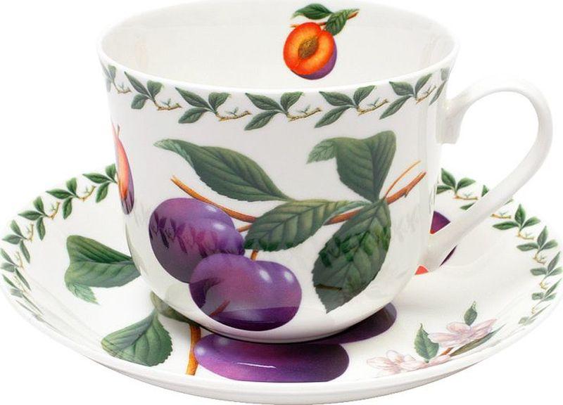 Чайная пара Maxwell & Williams Слива, 0,48 лMW637-PB8104Чайная пара Maxwell & Williams  Слива состоит из чашки и блюдца, изготовленных из высококачественного фарфора. Изделия оформлены изображением фруктов и имеют изысканный внешний вид. Такой набор прекрасно дополнит сервировку стола к чаепитию и подчеркнет ваш безупречный вкус.