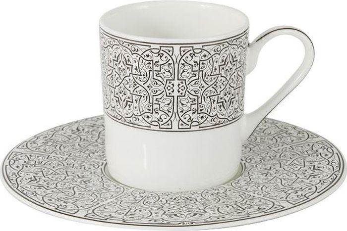 Набор кофейный Naomi Серебряный дворец, 12 предметовNG-10103-C6-ALНабор кофейный Naomi Серебряный дворец состоит из 6 чашек и 6 блюдец. Набор выполнен из высококачественного костяного фарфора и оформлен стильным дизайном. Сервизы Naomi могут стать прекрасным подарком на свадьбу, новоселье или другое значительное событие, ведь форма и дизайн Naomi никогда не выйдут из моды и всегда будет радовать своих хозяев.