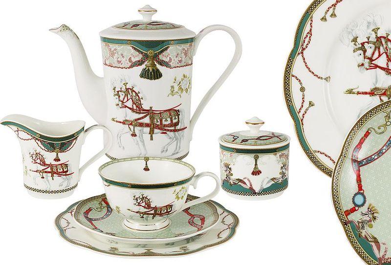 Сервиз чайный Anna Lafarg Emily Эдинбург, 21 предметAL-M1924/21-E9Чайная и обеденная столовая посуда торговой марки Anna Lafarg произведена из высококачественного костяного фарфора. Тончайший костяной фарфор, высокое качество нанесения декора, элегантность форм, уникальный дизайн - все это является отличительной чертой бренда. Коллекция Anna Lafarg Emily представлена, как в виде обеденных и чайных сервизов на 6 и 12 персон, так и наборами для чая в подарочных упаковках. Вся посуда выполнена в классическом стиле, который всегда на пике моды, украсит любой интерьер и принесет уют в каждый дом.