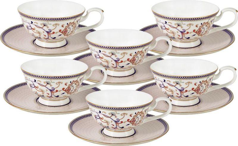 Сервиз чайный Anna Lafarg Emily Королева Анна, 12 предметов anna lafarg emily набор чашек сан марино 6шт