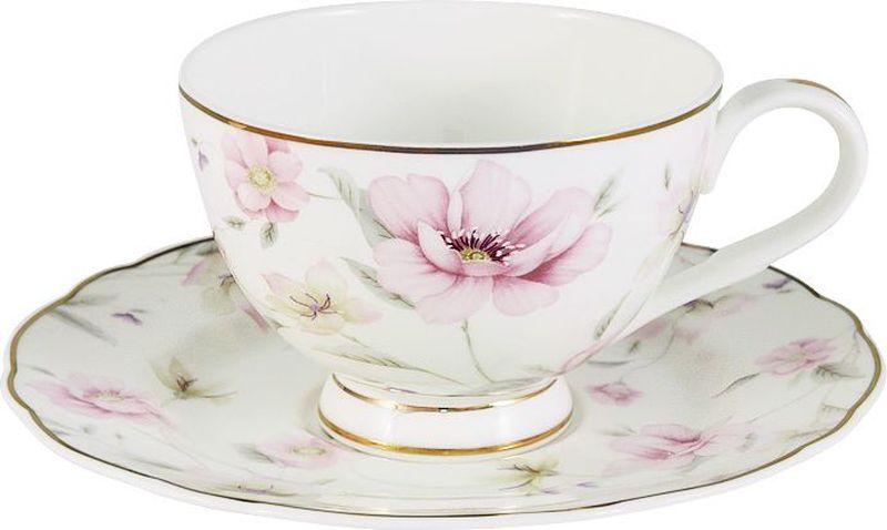 Чайная пара Anna Lafarg Emily Розовый танец anna lafarg emily набор чашек сан марино 6шт