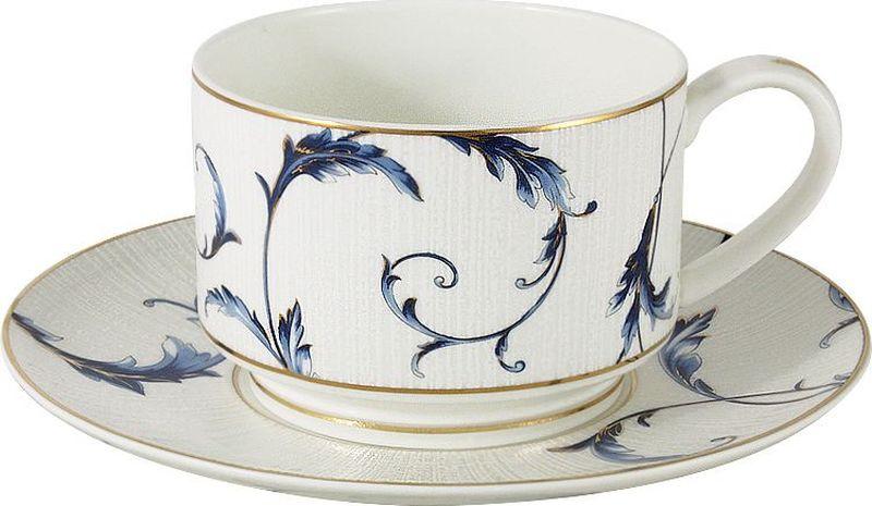 """Чайная и обеденная столовая посуда торговой марки """"Anna Lafarg"""" произведена из высококачественного костяного фарфора. Тончайший костяной фарфор, высокое качество нанесения декора, элегантность форм, уникальный дизайн - все это является отличительной чертой бренда.   Коллекция """"Anna Lafarg Emily"""" представлена, как в виде обеденных и чайных сервизов на 6 и 12 персон, так и наборами для чая в подарочных упаковках.   Вся посуда выполнена в классическом стиле, который всегда на """"пике"""" моды, украсит любой интерьер и принесет уют в каждый дом."""