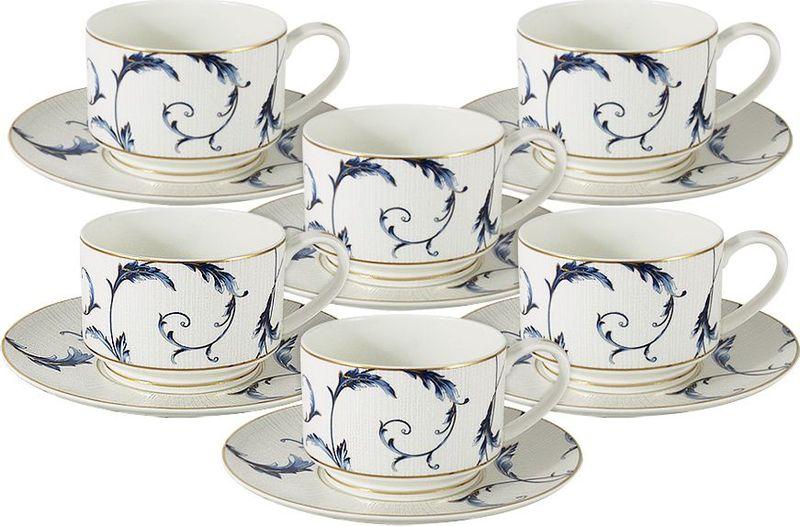 Сервиз чайный Anna Lafarg Emily Элегия, 12 предметов anna lafarg emily набор чашек сан марино 6шт