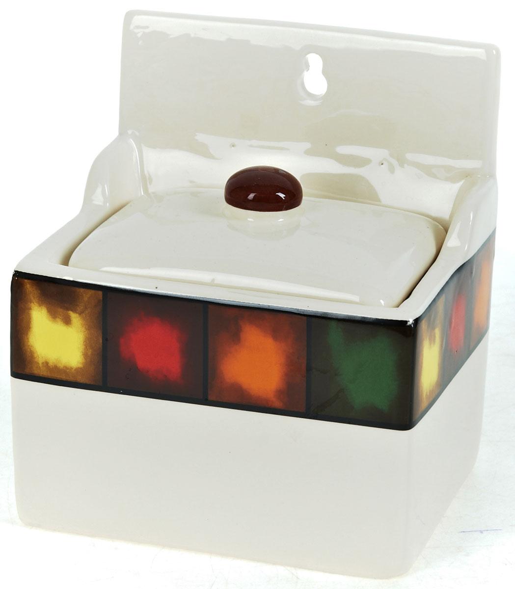 Солонка ENS Group Мармелад, 650 мл0050013Оригинальная солонка ENS Group Мармелад выполнена из высококачественной керамики, декорирована разноцветным рисунком. Изделие прямоугольной формы, имеет отверстие для подвешивания. Солонка станет хорошим дополнением на любой кухне, отлично сочетается с другими аксессуарами из серии Мармелад.