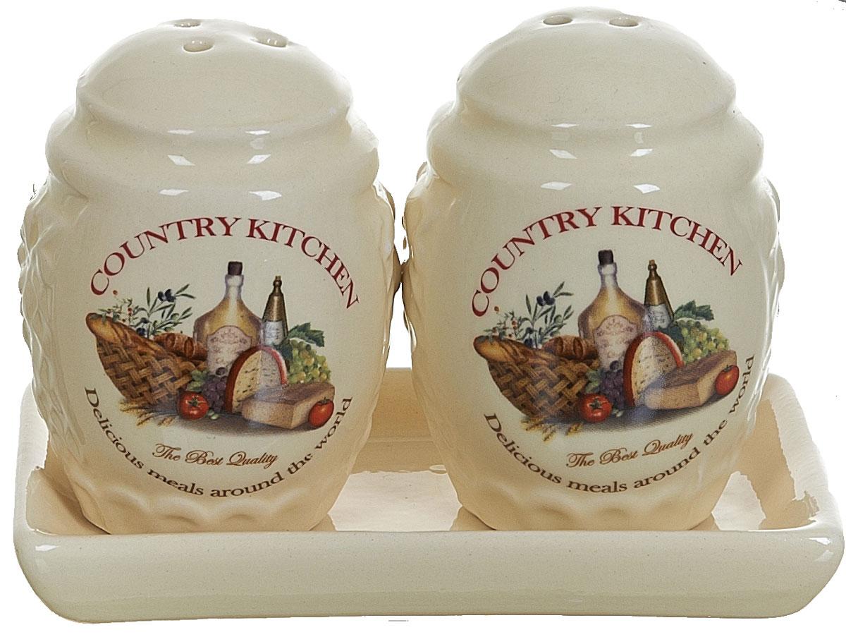 Набор для специй Polystar Country Kitchen, 3 предмета набор для специй polystar harmony 4 предмета