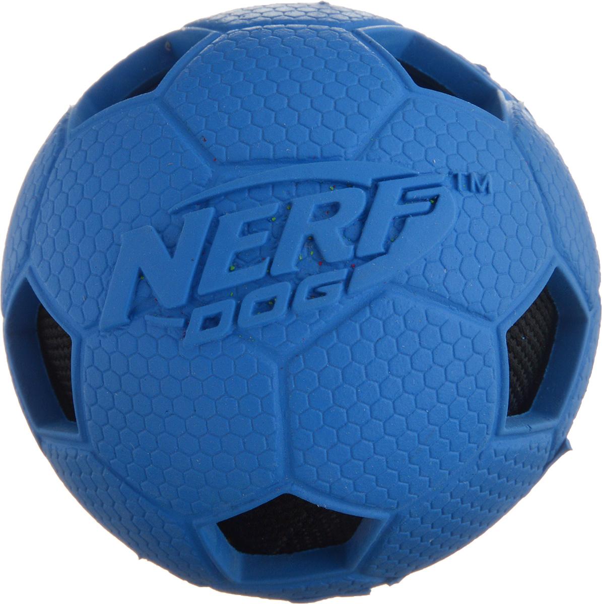 Игрушка для собак Nerf Мяч футбольный, диаметр 6 см мягкие игрушки дерево счастья игрушка антистресс футбольный мяч