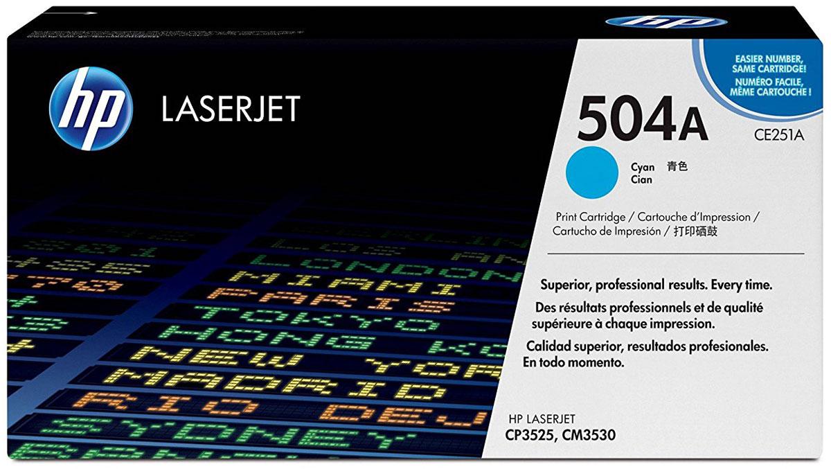 HP CE251A, Cyan тонер-картридж для Color LaserJet CP3525/CM3530CE251AУсовершенствованные голубые картриджи с тонером HP LaserJet с технологией HP ColorSphere обеспечивают получение быстрых и профессиональных результатов за короткое время. Надежная и последовательная печать — от обычных документов до рекламных материалов – и функции управления расходными материалами, которые экономят время.Усовершенствованный тонер HP ColorSphere удовлетворит широкий спектр требований и обеспечивает еще более высокий уровень глянца для ярких, насыщенных цветов. Великолепные результаты для любого типа печати – от ежедневной деловой документации до профессиональной рекламной продукции.Печать с оригинальными расходными материалами HP – это удобство, простота и экономичность. Возможность печати различных видов документов – от профессиональных многоцветных рекламных материалов до экономичных черно-белых страниц.Тонер HP ColorSphere и интеллектуальный картридж обеспечивают неизменно быстрые и высококачественные результаты. Бесперебойная печать экономит время, увеличивает производительность и снижает общие затраты на печать.