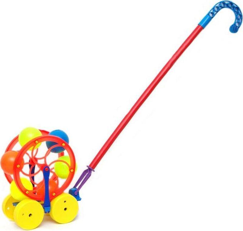 Karolina Toys Игрушка-каталка Карусель karolina toys игрушка каталка колесо