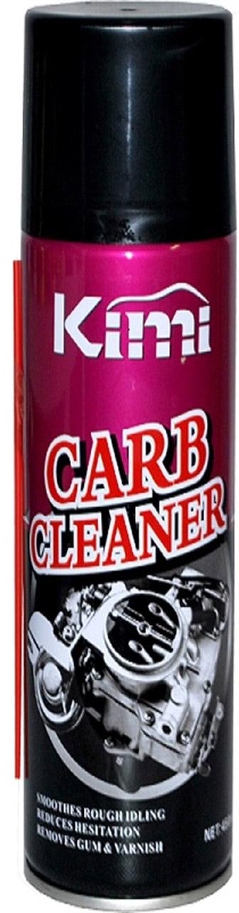 Очиститель карбюратора Kimi, аэрозоль, 450 млK2Очиститель Kimi эффективно удаляет стойкие отложения,нагар, смолы и другие загрязнения с наружных и внутреннихчастей карбюратора. Без разборки восстанавливает заводские характеристикикарбюратора. Улучшает приемистость, снижает расход топлива и токсичностьвыхлопа. Действие очистительного состава для карбюратора неснижается в зависимости от марки используемого вамитоплива, а его активные компоненты никоим образом невредят деталям двигателя, с которыми он контактирует.
