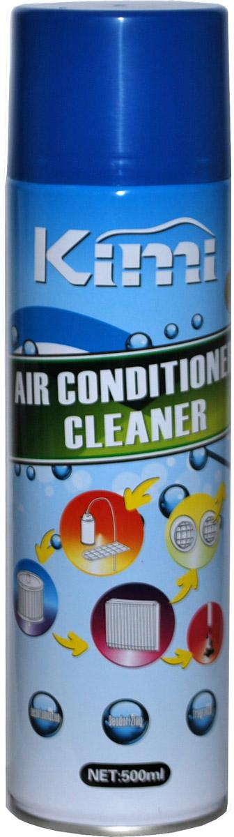 Очиститель кондиционеров Kimi, аэрозоль, 500 млK20Очиститель Kimi может использоваться для любой системы кондиционирования.Освежает и очищает воздух, обладает приятным ароматом. Содержит сильное моющие средства, которые удаляют плесень, грибы и бактерии и предотвращяют их появление в течение длительного срока.