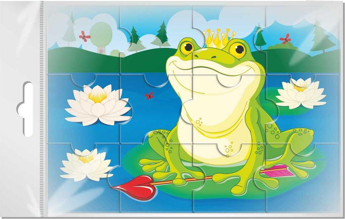 Издательская группа Квадра Пазл для малышей Царевна лягушка объемные пазл рыбка sw060